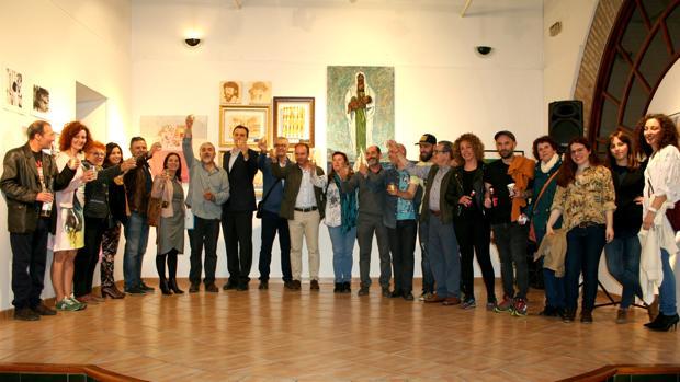 En la II Muestra Gastroarte de Lebrija se expondrán 30 obras en 15 bares de la localidad