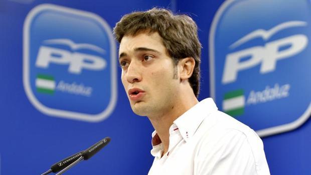 Luis Paniagua es el actual vicesecretario del Partido Popular de Sevilla