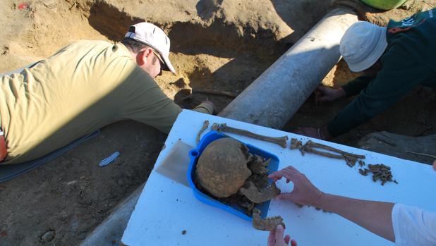 En el lugar se realizaron unos concienzudos trabajos de arqueología cuya tramtiación está ya cerrada.