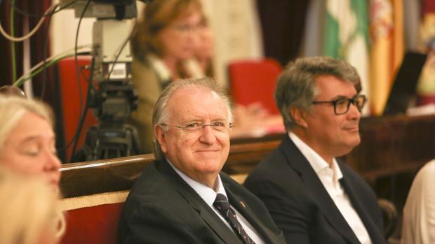 Los concejales del PP José Blas Fernández e IgnacioRomaní.