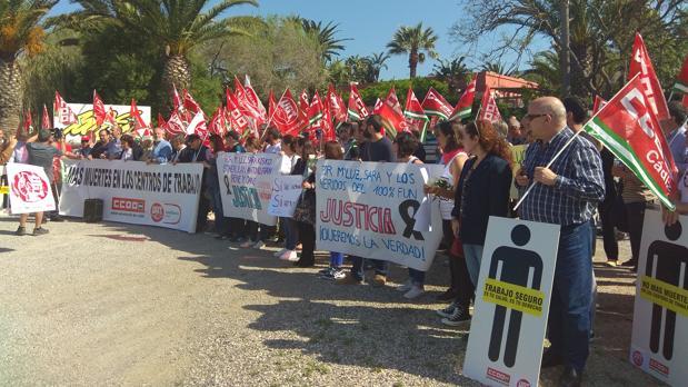 Imagen de la concentración celebrada en Tarifa.