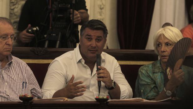 Ignacio Romaní., portavoz del PP en el Ayuntamiento.