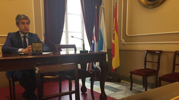 Pérez Dorao durante su comparecencia este jueves