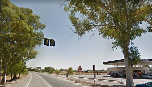 A las 5,50 horas la chica pasó por delante de la gasolinera de la zona de la Venta Esteban
