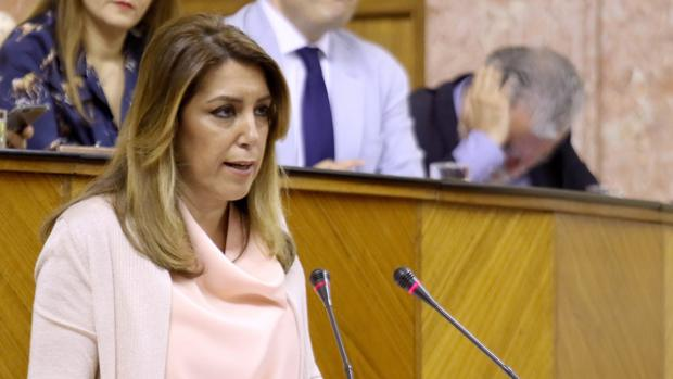 Susana Díaz, muy afectada por el fallecimiento del niño en Algeciras.