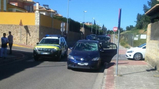 Un coche atropelló a un menor de edad cuando circulaba con un patinete eléctrico en Montequinto