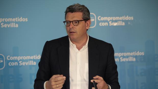 Para Ricardo Tarno (PP), la culpa de que no se celebre la feria es del alcalde socialista Antonio Conde