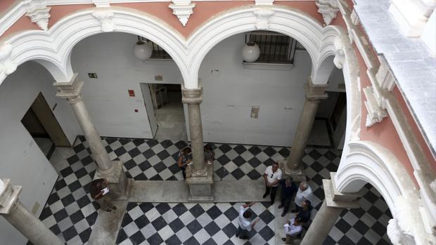 El Palacio de Recaño, donde está previsto el Museo del Carnaval de Cádiz