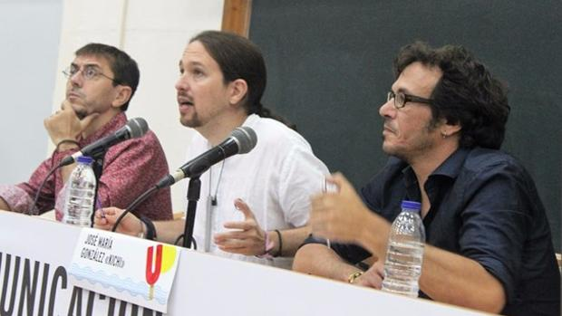 Monedero, Iglesias y Kichi