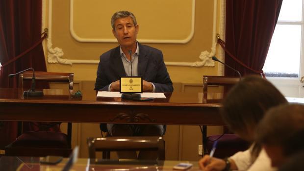 El portavoz de Ciudadanos, Juan Manuel Pérez-Dorao