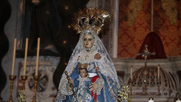 La Patrona de la ciudad, la Virgen del Rosario.