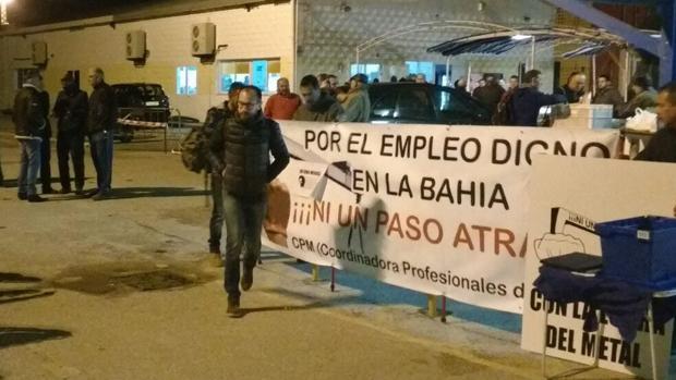 Lucha de los obreros por empleo digno en la Bahía.