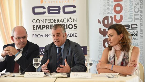El consejero de Empleo, Empresa y Comercio, Javier Carnero.