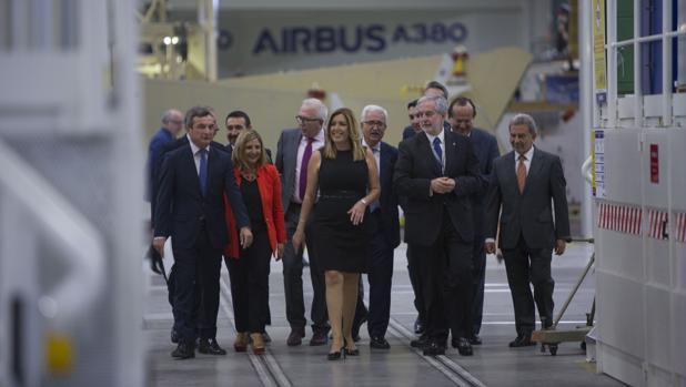 La planta de Airbus de PuertoReal albergó el 27 de septiembre de 2016 la presentación del CFA