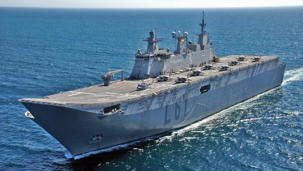 Los ciudadanos podrán visitar el buque los días 30 de junio y 1 de julio.