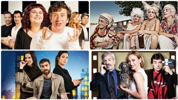 El intercambio, Lysístrata, Mandíbula afilada y 5 y acción! estarán en el Festival de Comedias de El Puerto.