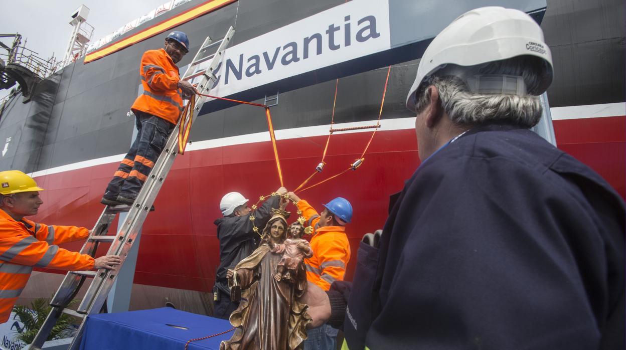 Navantia bate su récord de pérdidas con 389 millones de déficit en 2017