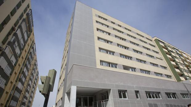 Aspecto actual de la fachada del edificio de la antigua comisaría.