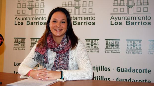 Sara Lobato, concejala de Asuntos Sociales en el Ayuntamiento de Los Barrios.
