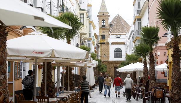 Imagen del barrio de La Viña.