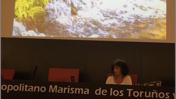 La arqueóloga Esperanza Mata divulgó el proyecto 'Aqua Ducta', sobre el Acueducto de Gades