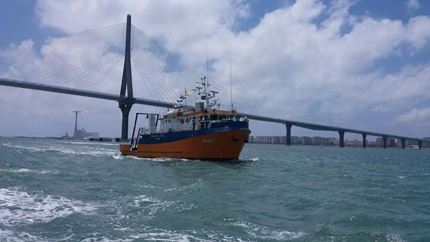 La embarcación de la UCA