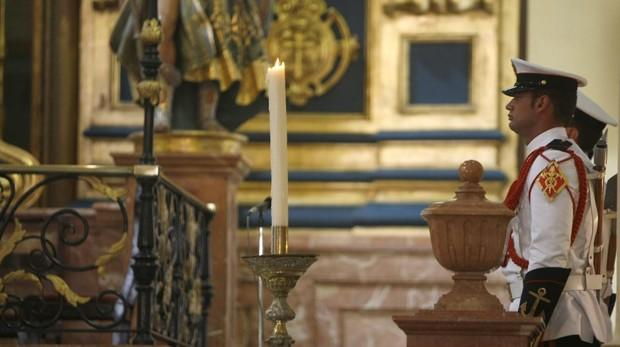 Los actos en honor a la Virgen del Carmen se celebran en la Escuela de Suboficiales de San Fernando.