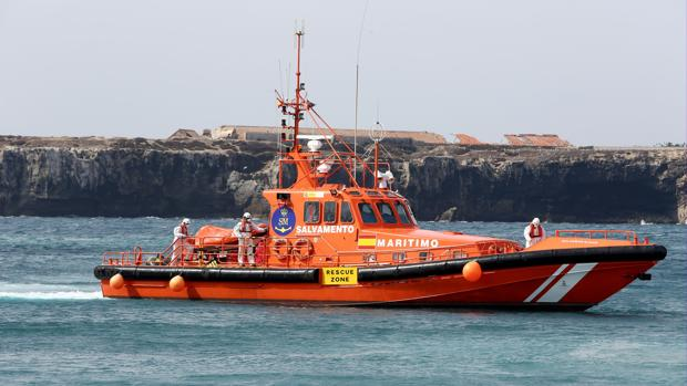 Una de las embarcaciones de Salvamento Marítimo.