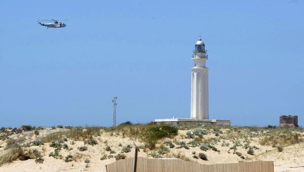 El submarinista ha desaparecido en una zona cercana a Trafalgar.