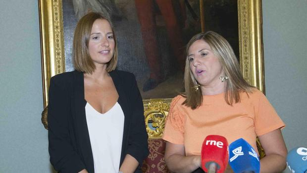 Irene García, presidenta de Diputación de Cádiz.