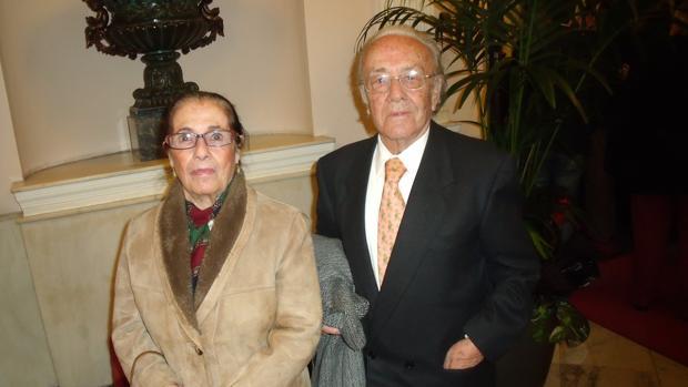 Conchita y Bendito, de los Gitanillos de Cádiz