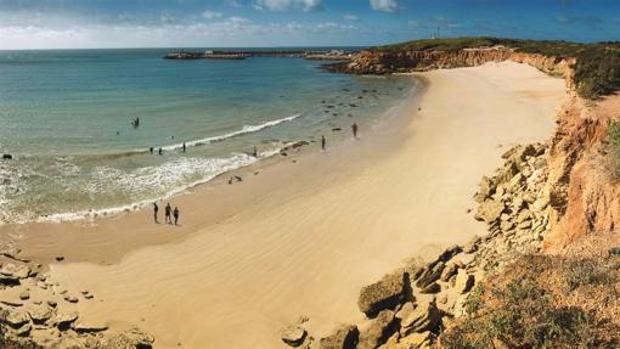 La Cala del Aceite, una de las playas más bonitas de Conil.