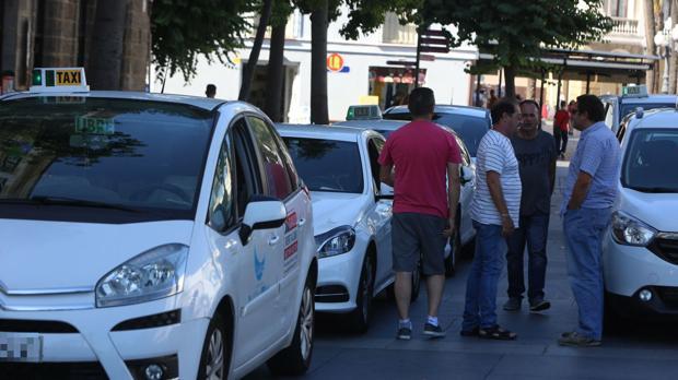 Los taxistas de Cádiz apoyarán a sus compañeros en sus protestas.