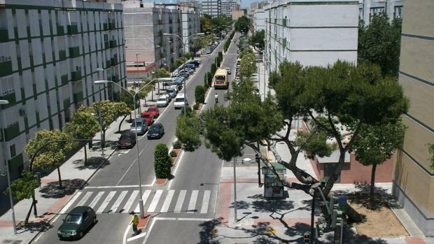 Uno de los robos denunciados se produjo en la avenida del Guadalquivir.