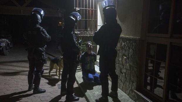 Operación de la Policía Nacional en Sanlúcar contra una banda acusada de secuestros y torturas.