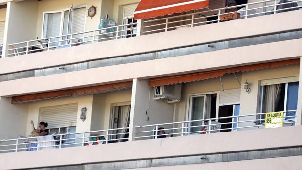 Vivienda en alquiler del Paseo Marítimo de Cádiz