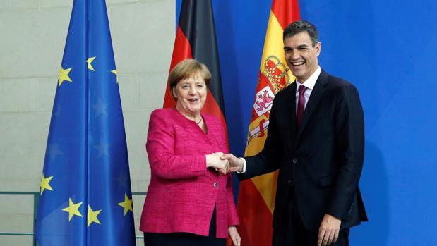 Ángela Merkel y Pedro Sánchez se citan en Cádiz