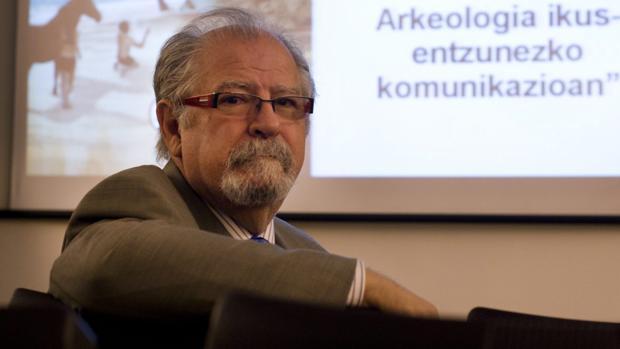 El catedrático de Arqueología Manuel Martín-Bueno.