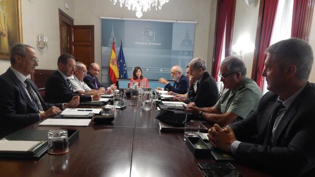 Autoridades y Cuerpos de Seguridad en la evaluación de las dos primeras semanas en activo del Plan de Seguridad en la comarca.
