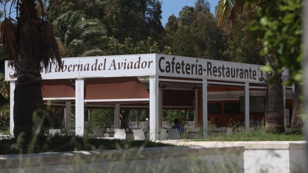 El quiosco de hostelería situado en la Plaza Campo de la Aviación de Loreto