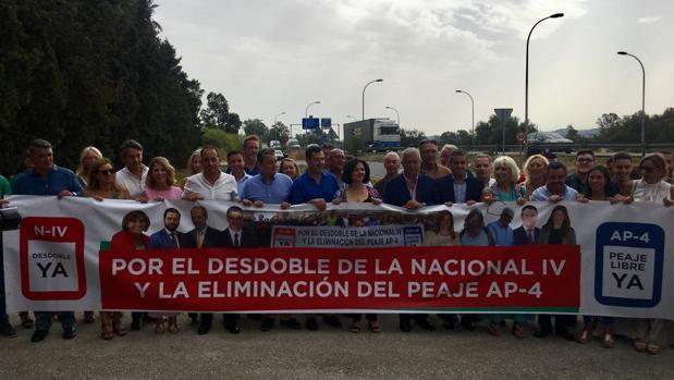 Los populares han celebrado un acto reivindicativo en Jerez.