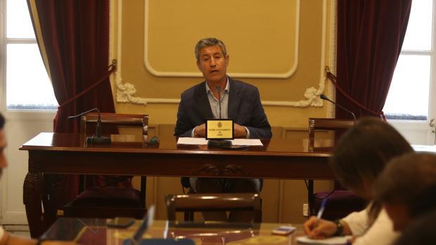 Juan Manuel Pérez Dorao, portavoz de Ciudadanos.