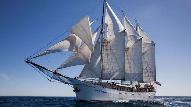 El buque escuela indio 'Tarangini'