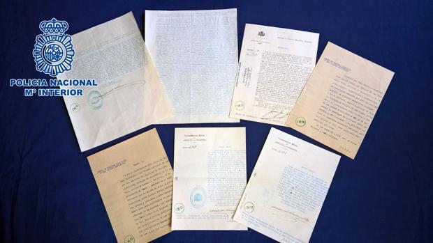 Los documentos que iban a ser subastados son de 1937, en plena Guerra Civil.