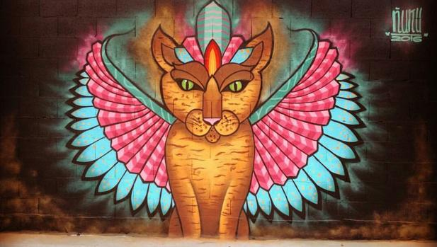 Segundo puesto en el I Concurso de Grafiti CC Tartessus.