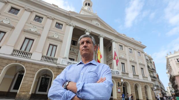 Juan Manuel Pérez Dorao es el portavoz de Ciudadanos en el Ayuntamiento de Cádiz.