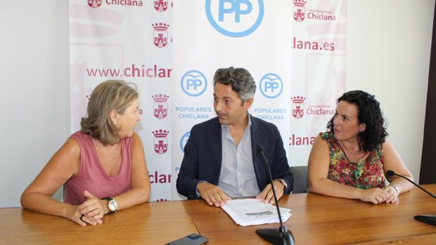 El portavoz del PP en el Ayuntamiento de Chiclana y candidato a las Municipales, Andrés Núñez.
