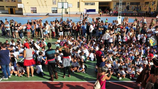 Inicio de curso en el colegio San Vicente de Paúl