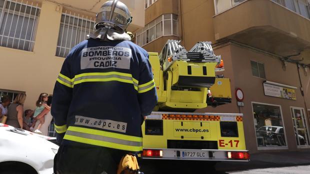 Imagen de archivo del Cuerpo de Bomberos de Cádiz.