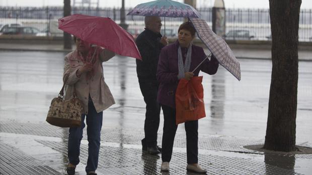 El sábado habrá lluvias con probabilidad de tormenta.